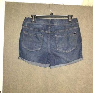 Faded Glory Shorts - Nice! Dark denim shorts